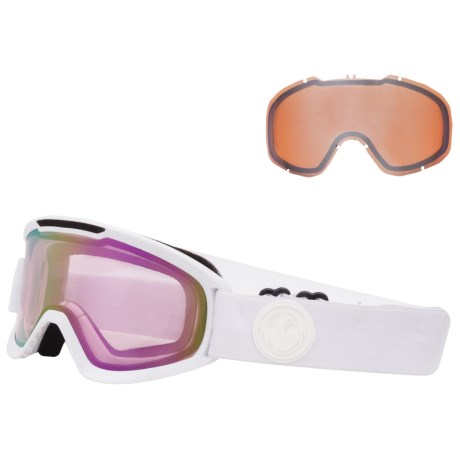 Dragon Alliance DX2 Ionized Ski Goggles - Extra Lens (For Women)