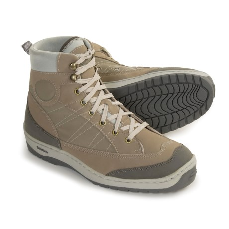 as as it gets review of simms flats sneaker wading