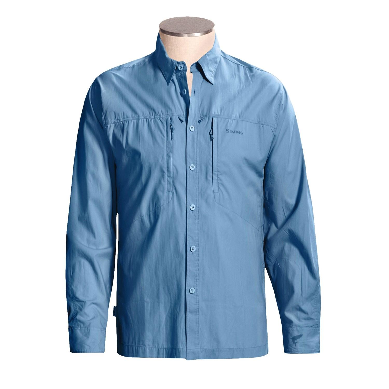 Simms cor3 bluewater fishing shirt for men 2384r save 36 for Simms fishing shirts