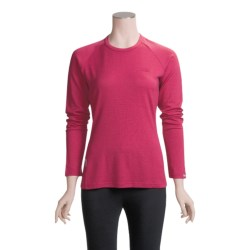 Icebreaker Bodyfit 260 Crew Shirt - Merino Wool, UPF 25, Long Sleeve (For Women)
