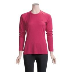 Icebreaker Bodyfit 260 Crew Shirt - Merino Wool, UPF 25, Long Sleeve (For Women)