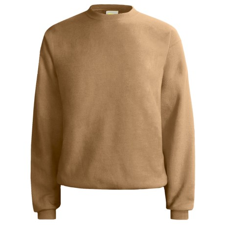 Hanes Comfort-Blend Fleece Sweatshirt - Crew Neck, Long Sleeve (For Men and Women)