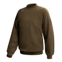 Hanes Ultimate Cotton Crew Fleece Sweatshirt  (For Men and Women)
