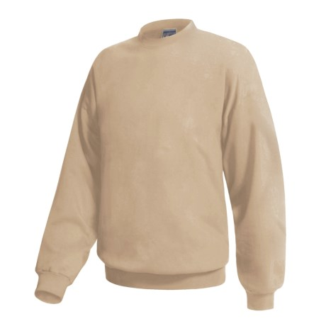 Hanes Ultimate Cotton Crew Fleece Sweatshirt  (For Men and Women)