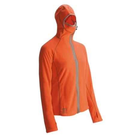 66 North 66® North Vik Hooded Fleece Sweatshirt - Polartec® Power Stretch® (For Women)