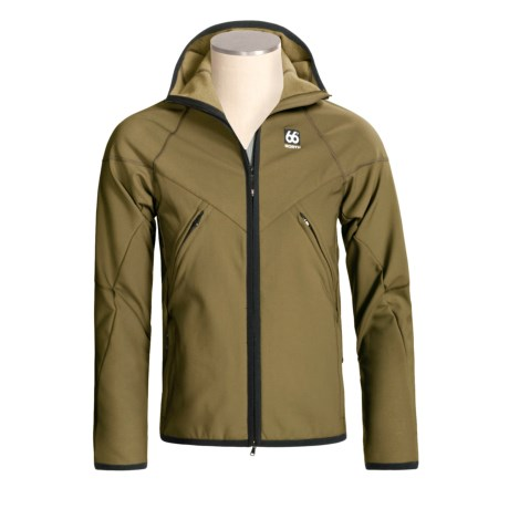 66° North Glymur Hooded Jacket - Polartec® Powershield® Soft Shell (For Men)