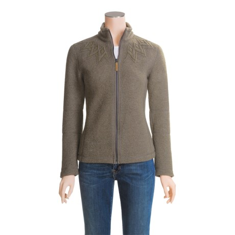 66° North Kaldi Sweater Jacket - Wool (For Women)