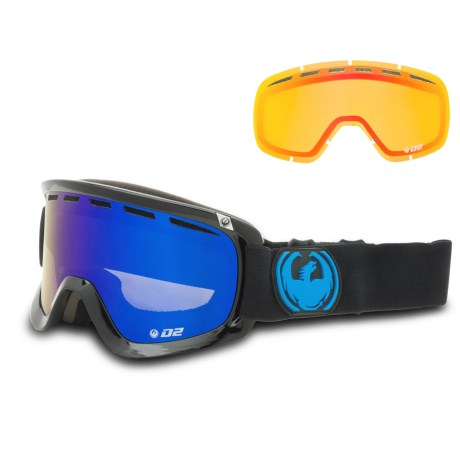 Dragon Alliance D2 Ski Goggles - Extra Lens