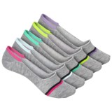 Steve Madden Athletic Footie Socks - 5-Pack, Below the Ankle (For Women)
