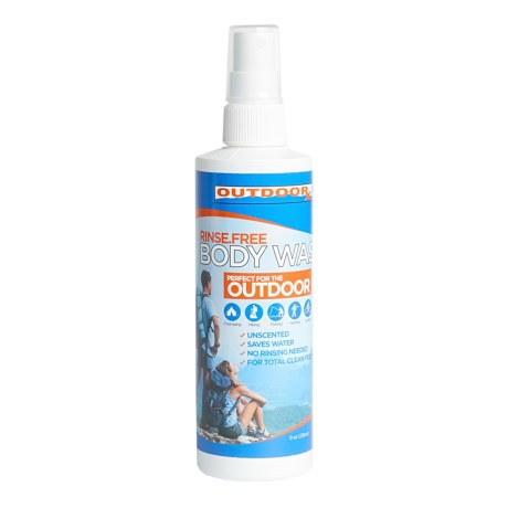 Outdoor RX Rinse-Free Body Wash - Unscented