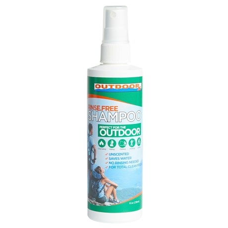 Outdoor RX Rinse-Free Shampoo - Unscented