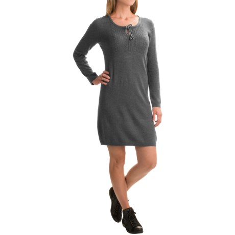 Royal Robbins First Light Knit Sweater Dress - Long Sleeve (For Women)