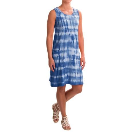 Neon Buddha Brodie Tie-Dye Dress - Crew Neck, Sleeveless (For Women)
