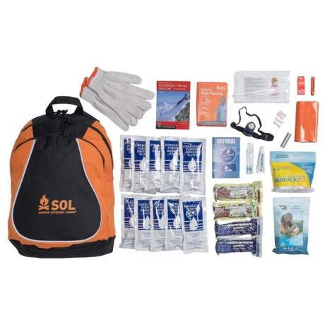 Adventure Medical Kits Adventure® Medical Kits Sol Urban Survivor Kit - 72-Hour, 1-Person