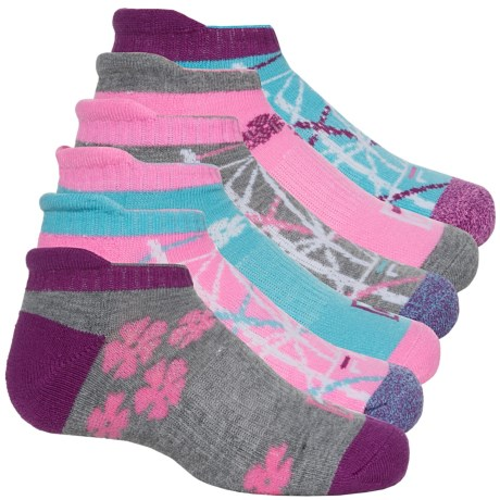 Fila No-Show Socks - 6-Pack, Below the Ankle (For Big Girls)
