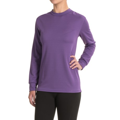 Kenyon Midweight Waffle-Knit Shirt - Crew Neck, Long Sleeve (For Women)