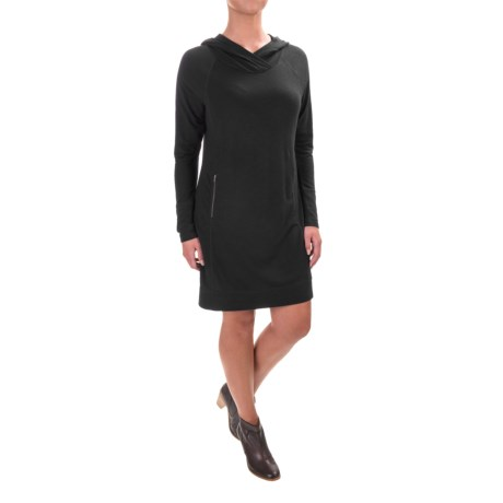 Dakini Hoodie Dress - Long Sleeve (For Women)