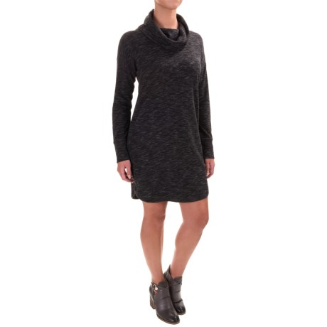 Dakini Cowl Neck Dress - Long Sleeve (For Women)