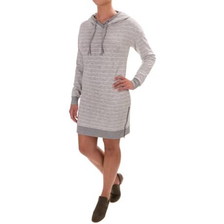 Dakini Hooded Drawstring Dress - Long Sleeve (For Women)