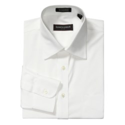 Kenneth Gordon Pinpoint Solid Dress Shirt - Cotton, Wrinkle-Free, Long Sleeve (For Men)
