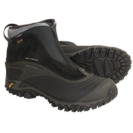 Merrell Snowmotion 8 Zip-Front Boots - Waterproof (For Men)