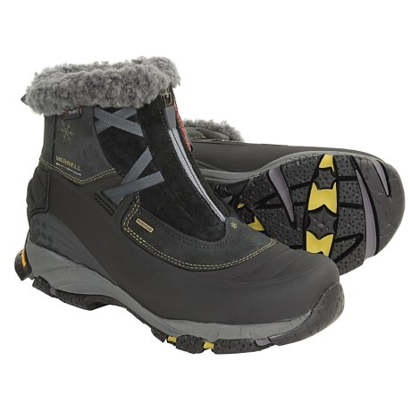 Merrell Winterlude Zip-Front Boots - Waterproof (For Women)