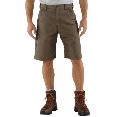 Carhartt 7.5 oz. Canvas Work Shorts - Factory Seconds (For Men)