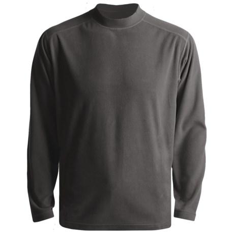 White Sierra Tongass Pullover Mock Turtleneck - Microfleece, Long Sleeve (For Men)