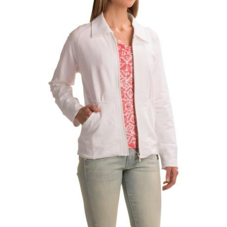 Nomadic Traders Apropos Noma French Terry Daybreaker Jacket (For Women)
