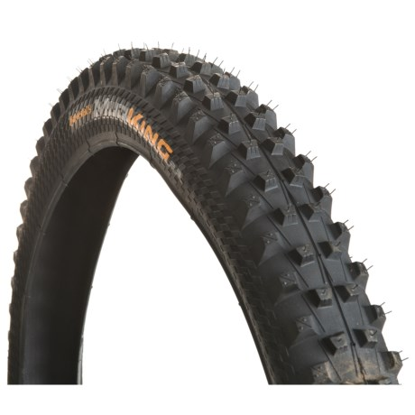 Continental Mud King Apex Dual Ply + BlackChili Mountain Bike Tire - 26x2.3, Wire Bead