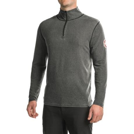 Neve Swiss Racer Sweater - Merino Wool-TENCEL®, Zip Neck (For Men)