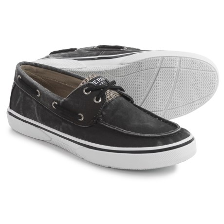 Sperry Halyard 2-Eye SW Boat Shoes (For Men)