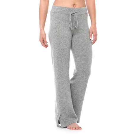 Cynthia Rowley Cashmere Drawstring Pajama Pants (For Women)