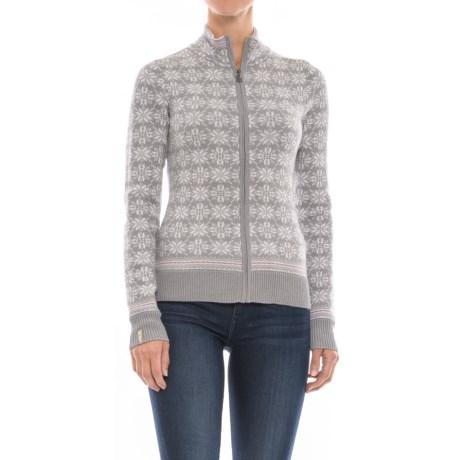 Meister Rose Sweater - Full Zip (For Women)