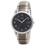 Timex Style Elevated Classic Expansions Watch - 35mm, Stainless Steel Bracelet (For Men)