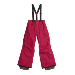 Orage Jackie Pants with Removable Suspenders - Insulated (For Girls)