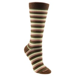 Carhartt Stripe Boot Socks - Midweight (For Women)