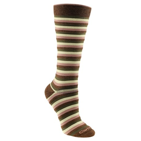 Carhartt Stripe Boot Socks - Midweight (For Women)