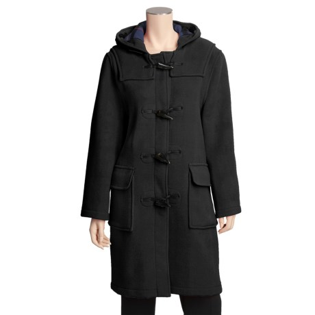 Gloverall High End Duffle Coat - Double Faced (For Women)