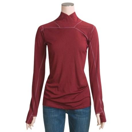 Mountain Hardwear Pandra Mock Turtleneck - Long Sleeve (For Women)
