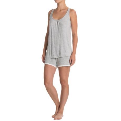 Artisan NY Crochet Back Tank Top and Printed Shorts (For Women)