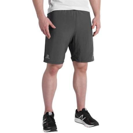 """Salomon Cairn 2-in-1 Running Shorts - 8"""" (For Men)"""