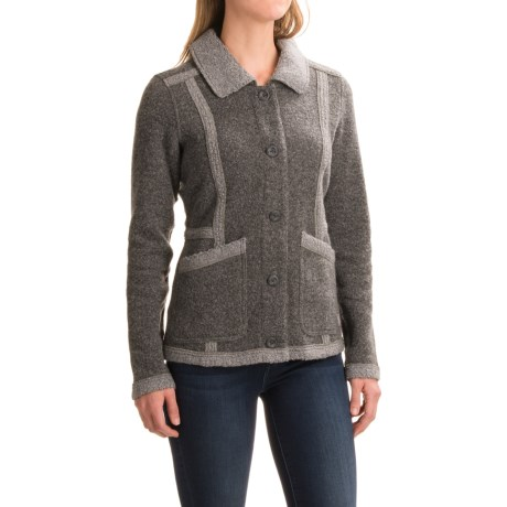 Toad&Co Highcamp Sherpa Jacket - Button Front (For Women)