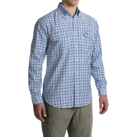 Guy Harvey Scripts Tech Shirt - Long Sleeve (For Men)