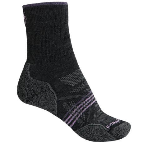 SmartWool PhD V2 Outdoor Light Socks - Merino Wool, Crew (For Women)