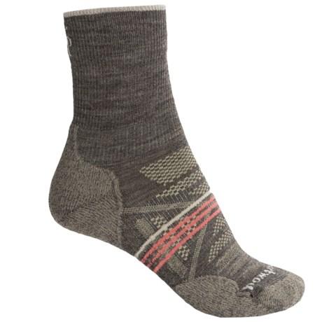 SmartWool PhD Outdoor Light Socks - Merino Wool, Quarter Crew (For Women)