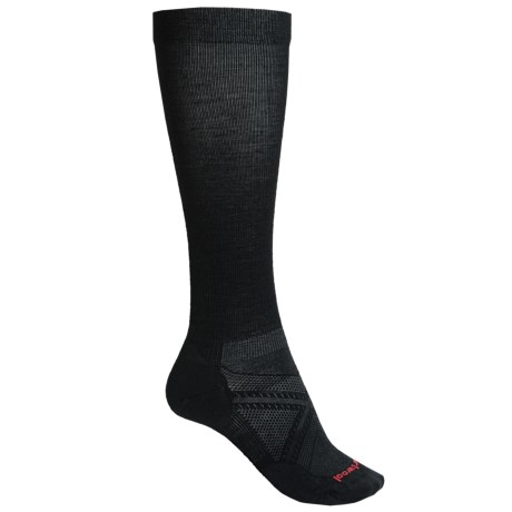 SmartWool PhD Run Graduated Compression Ultralight Socks - Merino Wool, Over the Calf (For Men)