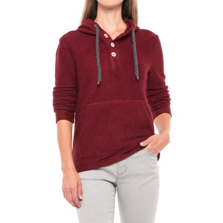 Specially made Knit Cowl Neck Sweater Hoodie (For Women)