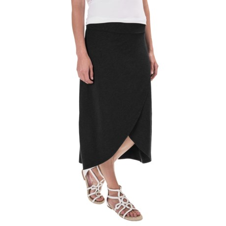 Specially made Midi Faux-Wrap Skirt (For Women)