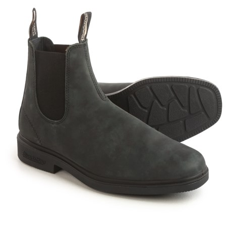 Blundstone 1308 Pull-On Boots - Nubuck, Factory 2nds (For Men and Women)